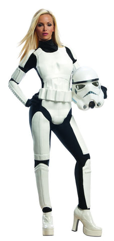 Womens/Teens Star Wars Deluxe Stormtrooper Costume