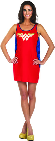 Womens Wonder Woman Tank Dress - HalloweenCostumes4U.com - Adult Costumes
