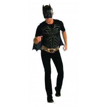 Mens Batman Costume Shirt - HalloweenCostumes4U.com - Adult Costumes