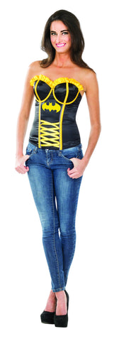 Womens Batman Batgirl Corset - HalloweenCostumes4U.com - Adult Costumes