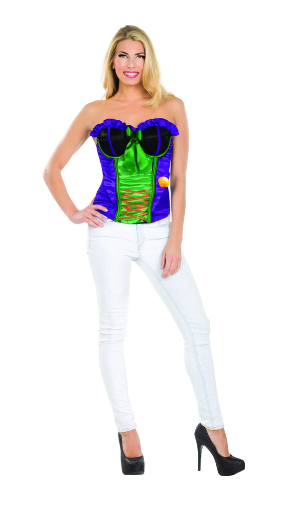 Womens Batman The Joker Corset - HalloweenCostumes4U.com - Adult Costumes