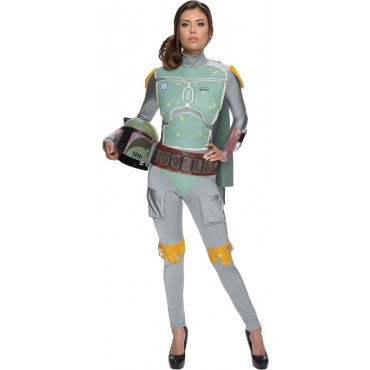 Womens/Teens Star Wars Boba Fett Costume - HalloweenCostumes4U.com - Adult Costumes