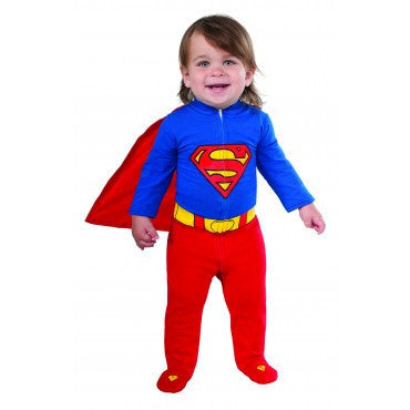 Infants Superman Romper - HalloweenCostumes4U.com - Infant & Toddler Costumes