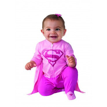 Infants Supergirl Costume - HalloweenCostumes4U.com - Infant & Toddler Costumes