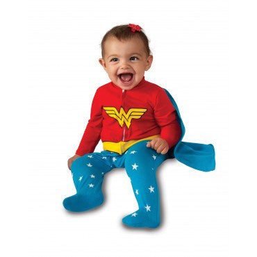 Infants Wonder Woman Costume - HalloweenCostumes4U.com - Infant & Toddler Costumes