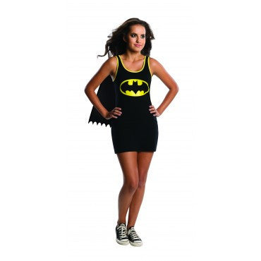 Teens Batman Tank Dress - HalloweenCostumes4U.com - Adult Costumes