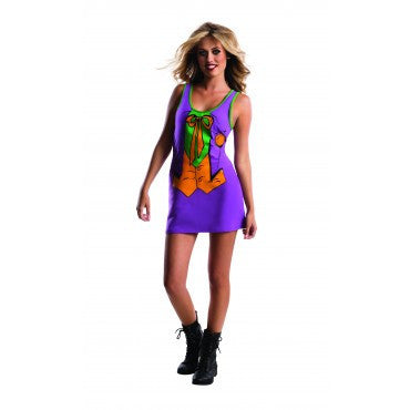 Teens Batman The Joker Tank Dress - HalloweenCostumes4U.com - Adult Costumes
