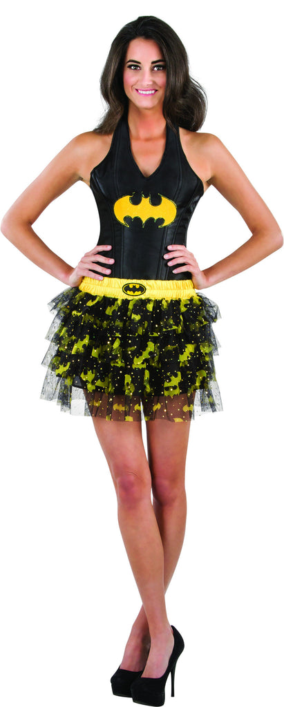 Teens Batman Batgirl Sequined Skirt - HalloweenCostumes4U.com - Adult Costumes