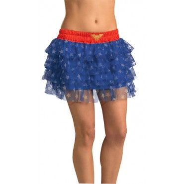 Teens Wonder Woman Skirt with Sequins - HalloweenCostumes4U.com - Adult Costumes