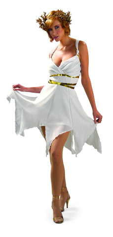 Womens Greek Goddess Costume - HalloweenCostumes4U.com - Adult Costumes