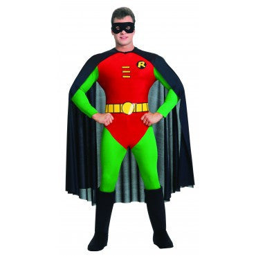 Mens Batman Deluxe Robin Costume - HalloweenCostumes4U.com - Adult Costumes
