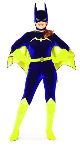 Womens/Teens Batman Classic Batgirl Costume - HalloweenCostumes4U.com - Adult Costumes