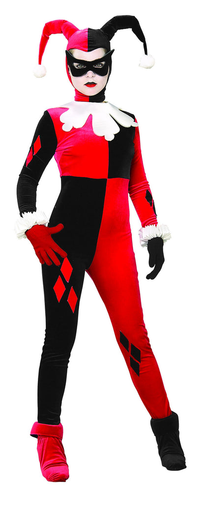 Womens/Teens Batman Harley Quinn Costume - HalloweenCostumes4U.com - Adult Costumes