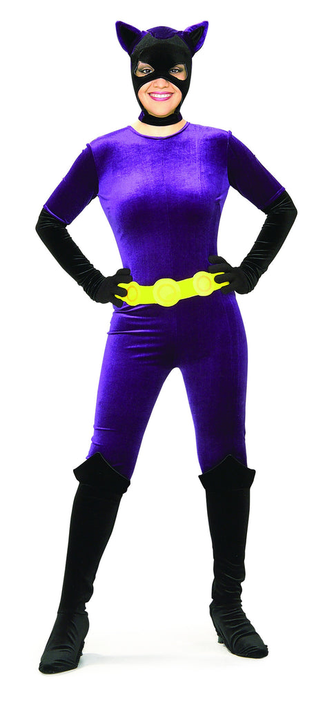 details womens classic catwoman costume