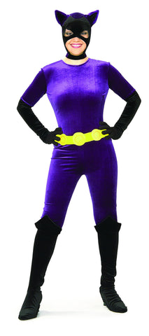 Womens/Teens Batman Classic Catwoman Costume - HalloweenCostumes4U.com - Adult Costumes