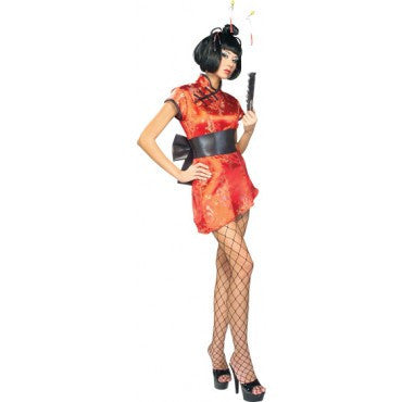 Womens/Teens Japanese Lady Costume - HalloweenCostumes4U.com - Adult Costumes