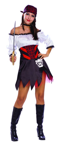 Womens Punky Pirate Costume - HalloweenCostumes4U.com - Adult Costumes