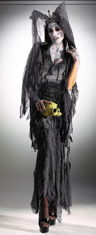 Womens Zombie Queen Costume - HalloweenCostumes4U.com - Adult Costumes