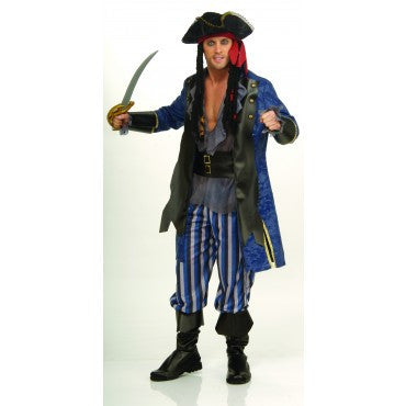 Mens Pirate Captain Costume - HalloweenCostumes4U.com - Adult Costumes