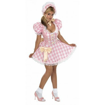 Womens/Teens Bo Peep Costume - HalloweenCostumes4U.com - Adult Costumes