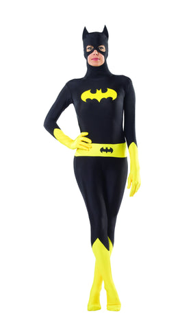 Womens Batman Batgirl Bodysuit - HalloweenCostumes4U.com - Adult Costumes
