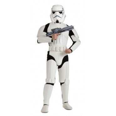 Mens Star Wars Deluxe Stormtrooper Costume - HalloweenCostumes4U.com - Adult Costumes