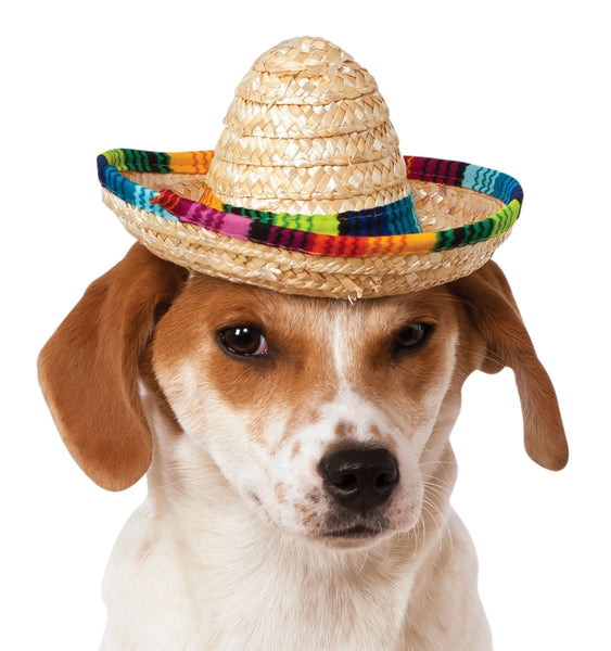 Pets Mexican Sombrero Hat - Various Colors