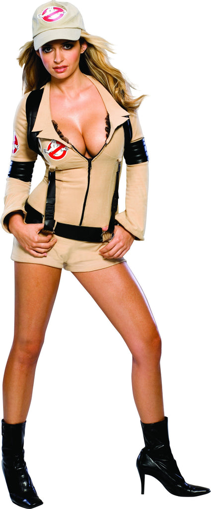 Womens/Teens Ghostbuster Costume - HalloweenCostumes4U.com - Adult Costumes