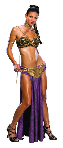 Womens/Teens Star Wars Princess Leia Slave Outfit Costume - HalloweenCostumes4U.com - Adult Costumes