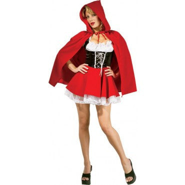 Womens/Teens Red Riding Hood Costume - HalloweenCostumes4U.com - Adult Costumes