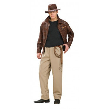 Mens Deluxe Indiana Jones Costume - HalloweenCostumes4U.com - Adult Costumes