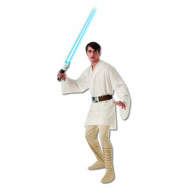 Mens Star Wars Luke Skywalker Costume - HalloweenCostumes4U.com - Adult Costumes