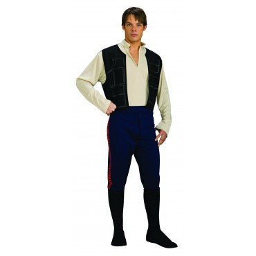 Mens Star Wars Han Solo Costume - HalloweenCostumes4U.com - Adult Costumes
