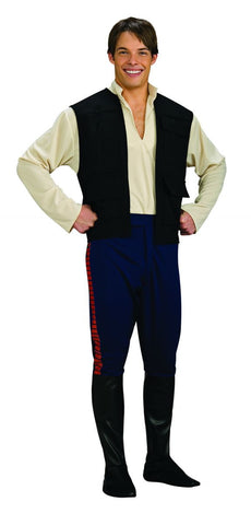 Mens Star Wars Deluxe Han Solo Costume