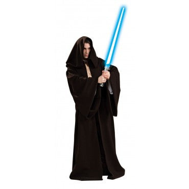 Mens Star Wars Jedi Super Deluxe Hooded Robe - HalloweenCostumes4U.com - Adult Costumes