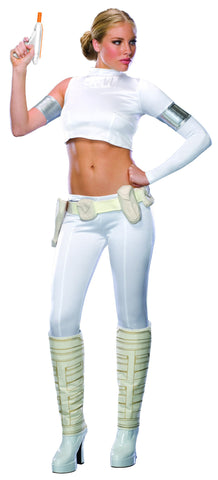 Womens/Teens Star Wars Padme Amidala Two Piece Costume - HalloweenCostumes4U.com - Adult Costumes