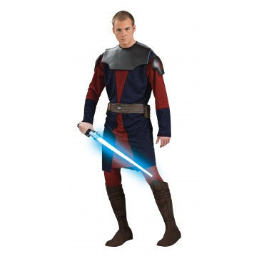 Mens Star Wars Deluxe Anakin Skywaker Costume - HalloweenCostumes4U.com - Adult Costumes