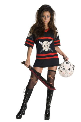 Womens/Teens Miss Jason Voorhees Costume - HalloweenCostumes4U.com - Adult Costumes