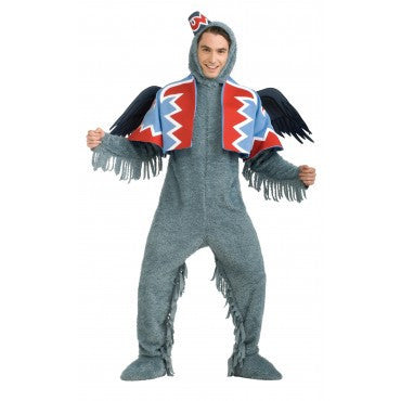 Mens Wizard of Oz Deluxe Flying Monkey Costume - HalloweenCostumes4U.com - Adult Costumes