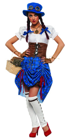 Womens Wizard of Oz Steampunk Dorothy Costume - HalloweenCostumes4U.com - Adult Costumes