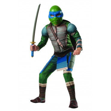 Boys Ninja Turtles Deluxe Leonardo Costume - HalloweenCostumes4U.com - Kids Costumes