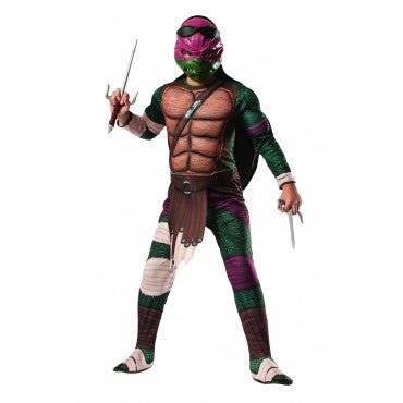 Boys Ninja Turtles Deluxe Raphael Costume - HalloweenCostumes4U.com - Kids Costumes