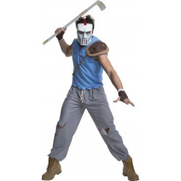 Mens Ninja Turtles Casey Jones Costume - HalloweenCostumes4U.com - Adult Costumes