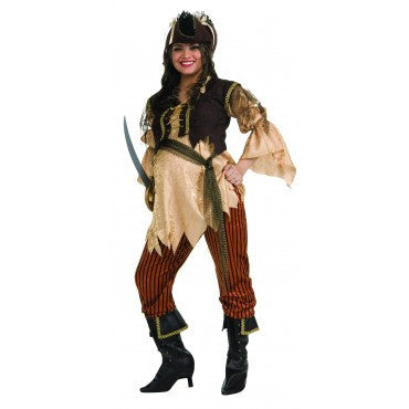 Maternity Pirate Queen Costume - HalloweenCostumes4U.com - Adult Costumes