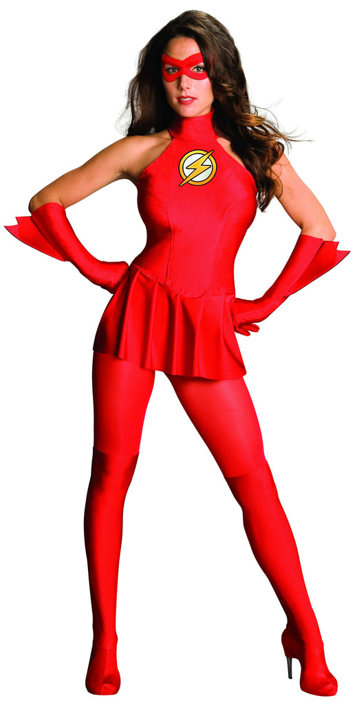 Womens/Teens The Flash Costume - HalloweenCostumes4U.com - Adult Costumes