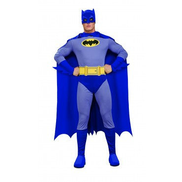 Mens Classic Batman Costume - HalloweenCostumes4U.com - Adult Costumes
