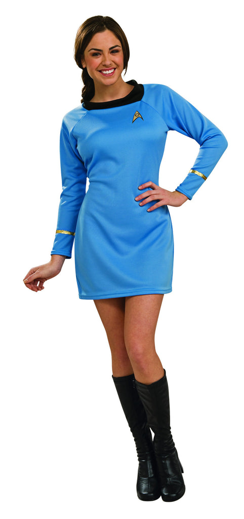 Womens/Teens Star Trek Deluxe Science Uniform Costume - HalloweenCostumes4U.com - Adult Costumes
