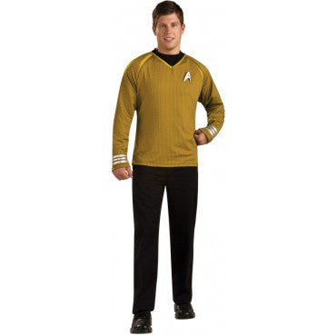 Mens Star Trek Captain Kirk Costume - Grand Heritage Collection - HalloweenCostumes4U.com - Adult Costumes