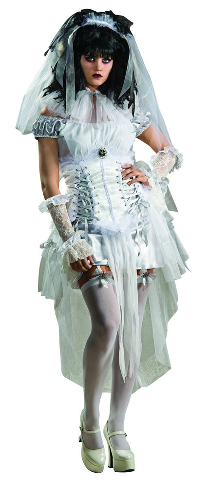 Womens Gothic Zombie Mistress Costume - HalloweenCostumes4U.com - Adult Costumes