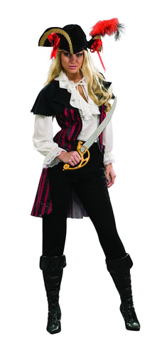 Womens Maria La Fay Pirate Costume - HalloweenCostumes4U.com - Adult Costumes